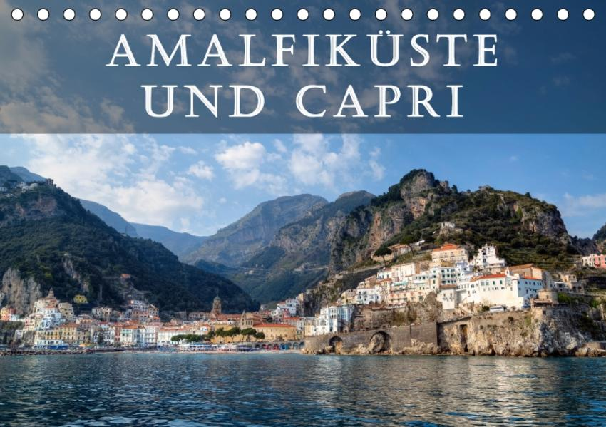 Amalfiküste und Capri (Tischkalender 2017 DIN A5 quer) - Coverbild