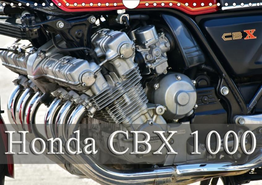 Honda CBX 1000 (Wandkalender 2017 DIN A4 quer) - Coverbild