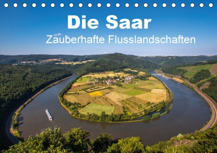 Die Saar - Zauberhafte Flusslandschaften (Tischkalender 2017 DIN A5 quer) - Coverbild