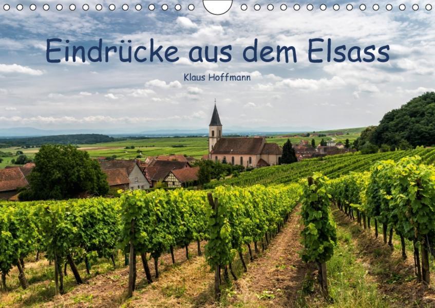 Eindrücke aus dem Elsass (Wandkalender 2017 DIN A4 quer) - Coverbild
