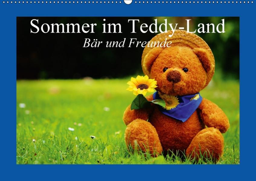 Sommer im Teddy-Land. Bär und Freunde (Wandkalender 2017 DIN A2 quer) - Coverbild