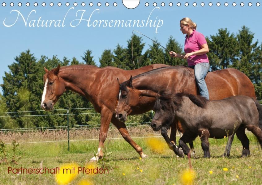 Natural Horsemanship - Partnerschaft mit Pferden (Wandkalender 2017 DIN A4 quer) - Coverbild