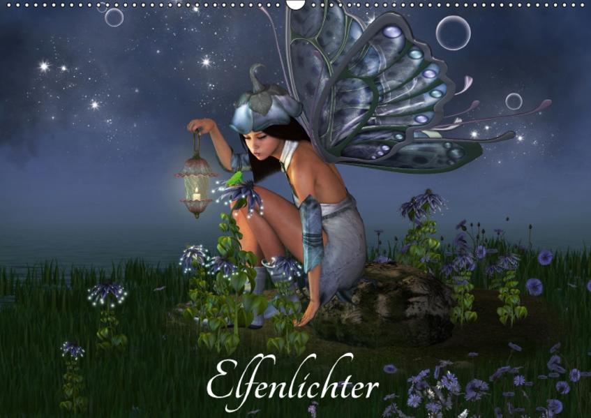 Elfenlichter (Wandkalender 2017 DIN A2 quer) - Coverbild