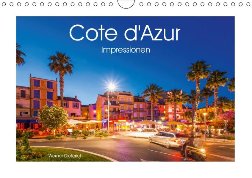 COTE D'AZUR  Impressionen (Wandkalender 2017 DIN A4 quer) - Coverbild