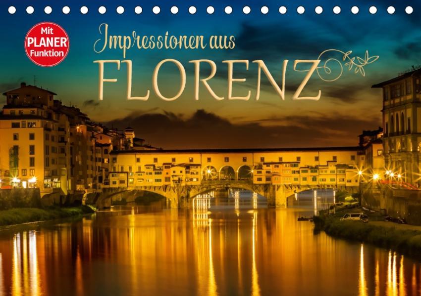 Impressionen aus FLORENZ (Tischkalender 2017 DIN A5 quer) - Coverbild