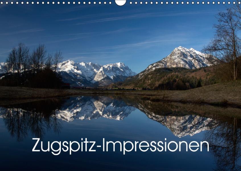 Zugspitz-Impressionen (Wandkalender 2017 DIN A3 quer) - Coverbild