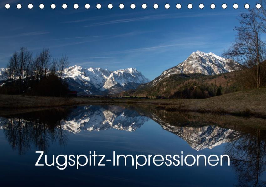 Zugspitz-Impressionen (Tischkalender 2017 DIN A5 quer) - Coverbild