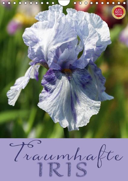 Traumhafte Iris (Wandkalender 2017 DIN A4 hoch) - Coverbild