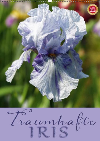 Traumhafte Iris (Wandkalender 2017 DIN A2 hoch) - Coverbild