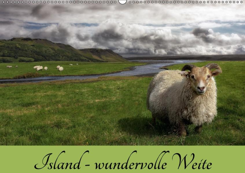 Island - wundervolle Weite (Wandkalender 2017 DIN A2 quer) - Coverbild