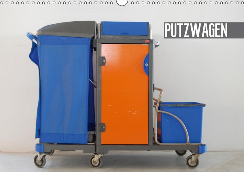 Putzwagen (Wandkalender 2017 DIN A3 quer) - Coverbild