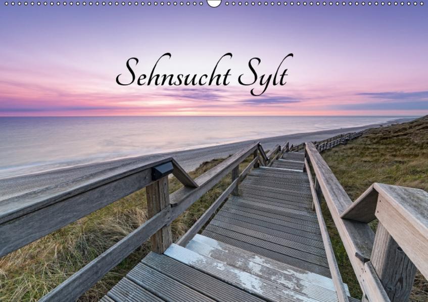 Sehnsucht Sylt (Wandkalender 2017 DIN A2 quer) - Coverbild