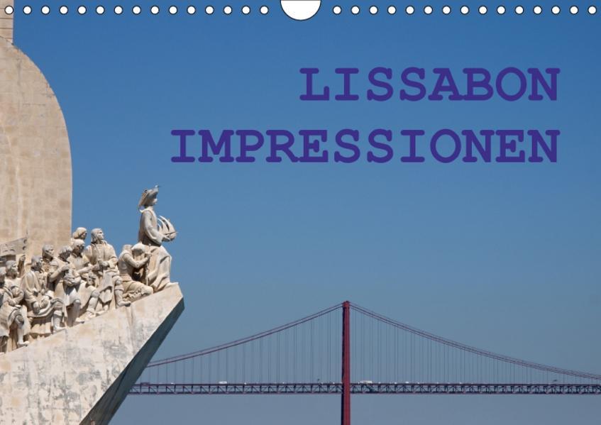 Lissabon Impressionen (Wandkalender 2017 DIN A4 quer) - Coverbild