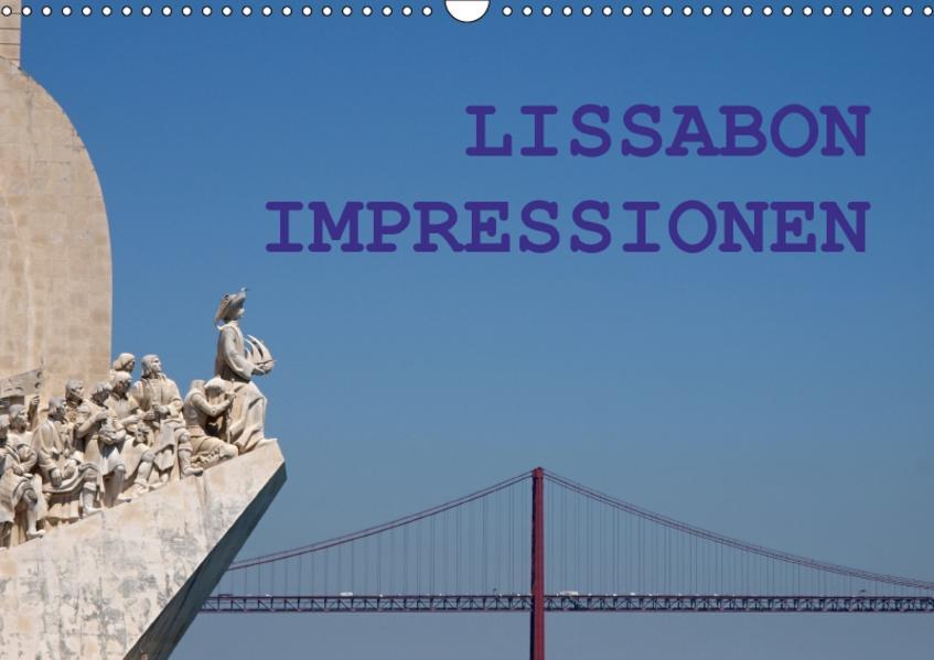 Lissabon Impressionen (Wandkalender 2017 DIN A3 quer) - Coverbild