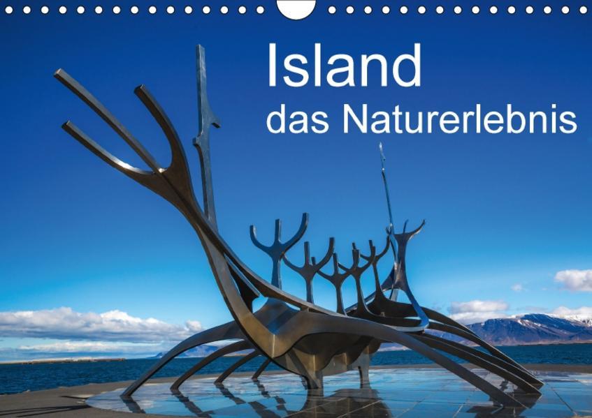 Island, das Naturerlebnis (Wandkalender 2017 DIN A4 quer) - Coverbild