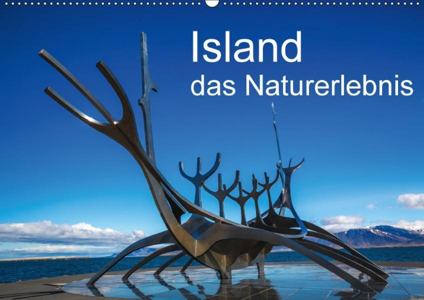 Island, das Naturerlebnis (Wandkalender 2017 DIN A2 quer) - Coverbild