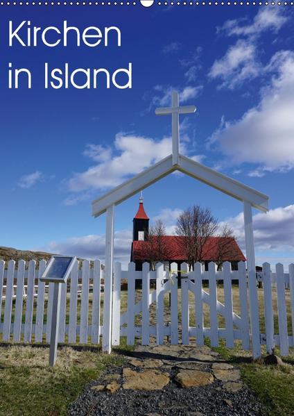 Kirchen in Island (Wandkalender 2017 DIN A2 hoch) - Coverbild