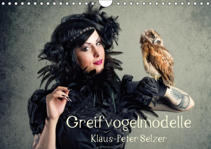 Greifvogelmodelle (Wandkalender 2017 DIN A4 quer) - Coverbild