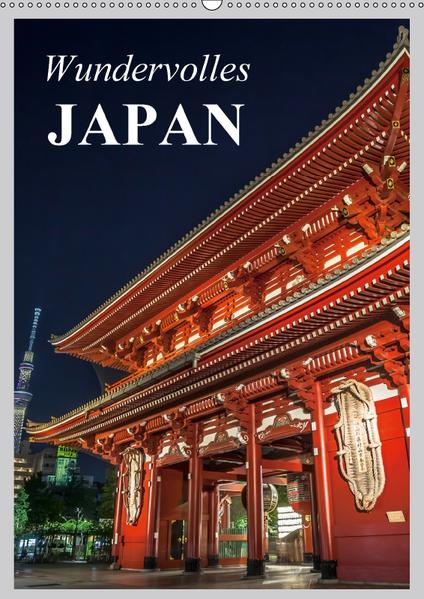 Wundervolles Japan (Wandkalender 2017 DIN A2 hoch) - Coverbild