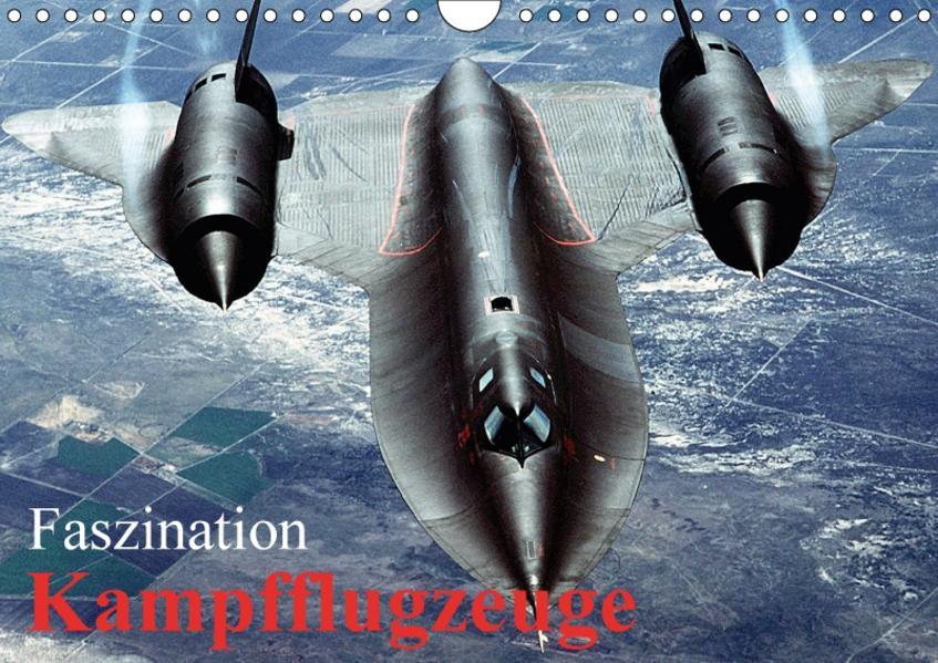 Faszination Kampfflugzeuge (Wandkalender 2017 DIN A4 quer) - Coverbild