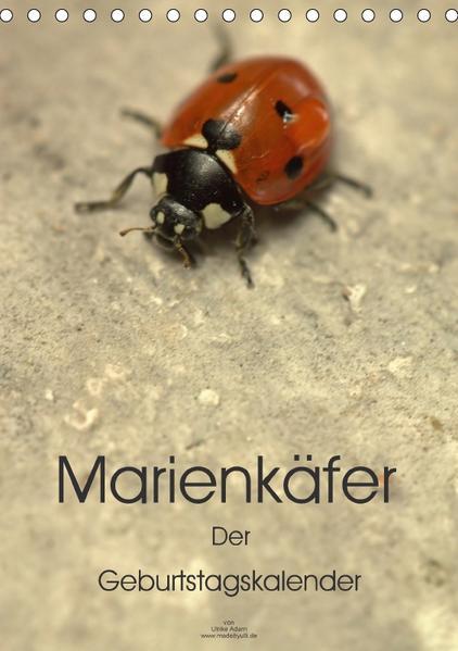 Marienkäfer -  Der Geburtstagskalender (Tischkalender 2017 DIN A5 hoch) - Coverbild