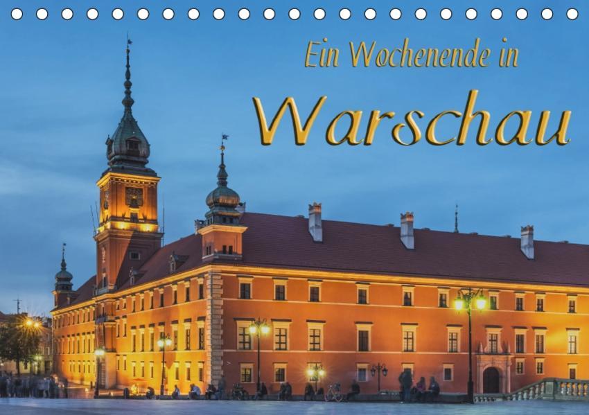 Ein Wochenende in Warschau (Tischkalender 2017 DIN A5 quer) - Coverbild