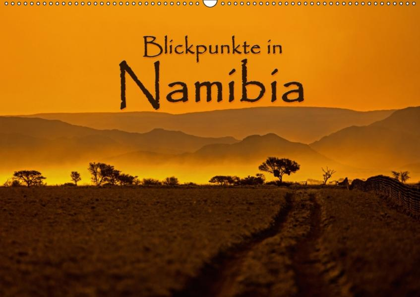 Blickpunkte in Namibia (Wandkalender 2017 DIN A2 quer) - Coverbild