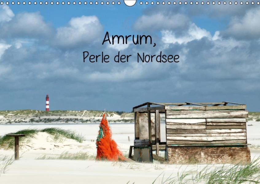 Amrum, Perle der Nordsee (Wandkalender 2017 DIN A3 quer) - Coverbild