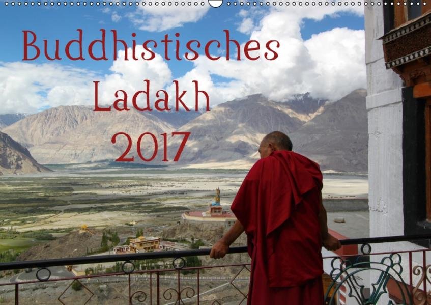 Buddhistisches Ladakh (Wandkalender 2017 DIN A2 quer) - Coverbild