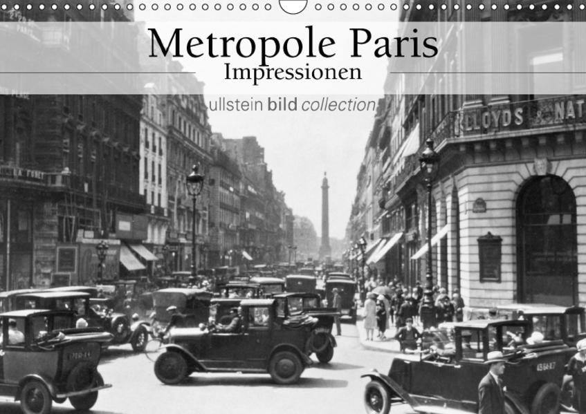 Metropole Paris - Impressionen (Wandkalender 2017 DIN A3 quer) - Coverbild