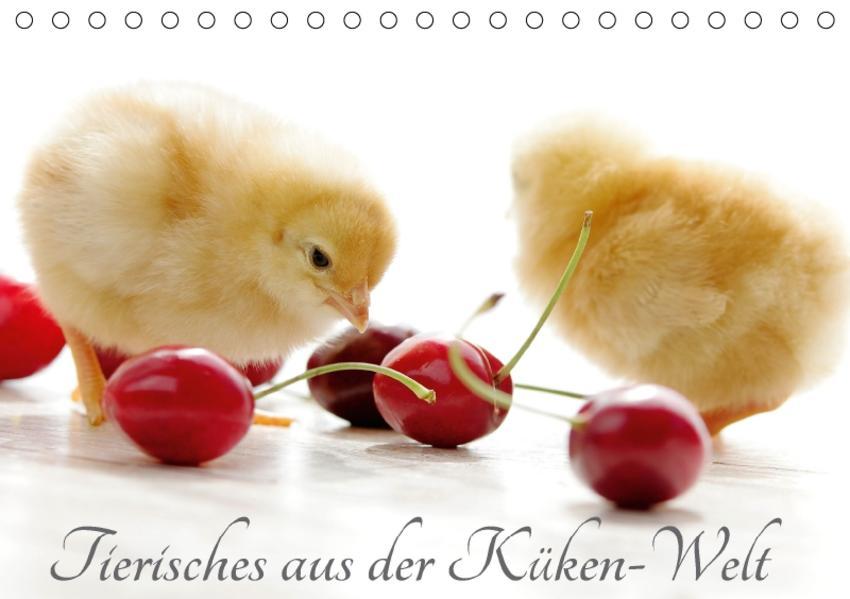 Tierisches aus der Küken-WeltAT-Version  (Tischkalender 2017 DIN A5 quer) - Coverbild