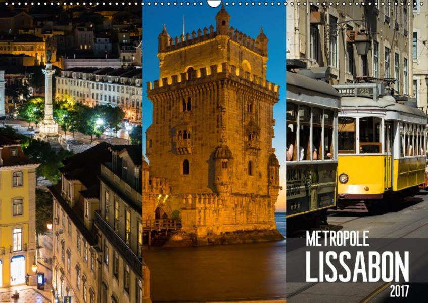 Metropole Lissabon (Wandkalender 2017 DIN A2 quer) - Coverbild
