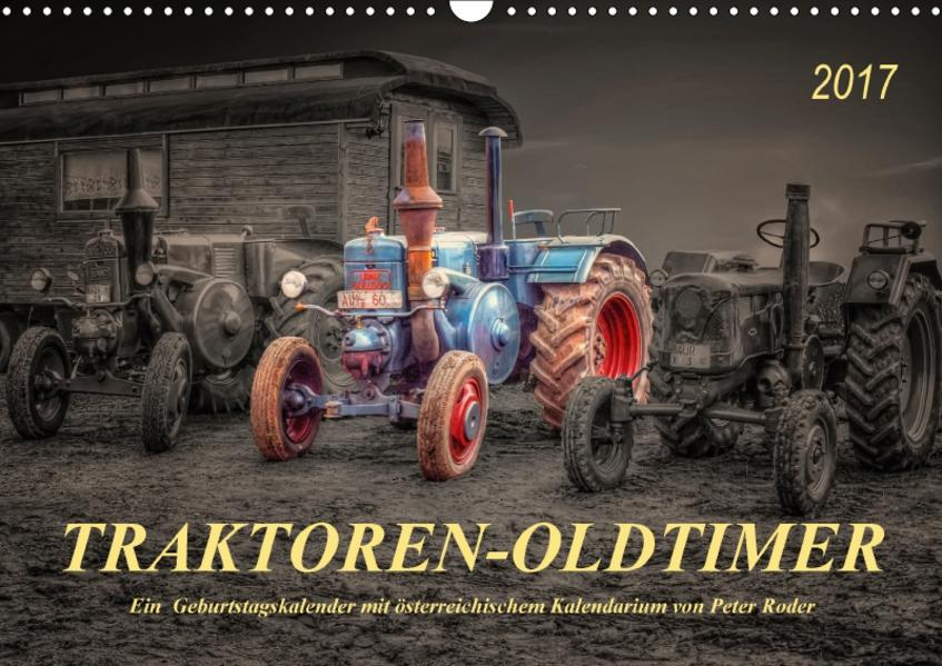 Traktoren - OldtimerAT-Version  (Wandkalender 2017 DIN A3 quer) - Coverbild