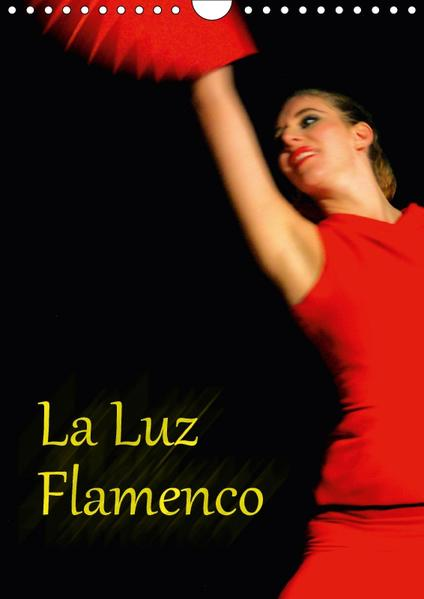 La Luz Flamenco (Wandkalender 2017 DIN A4 hoch) - Coverbild