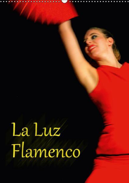 La Luz Flamenco (Wandkalender 2017 DIN A2 hoch) - Coverbild