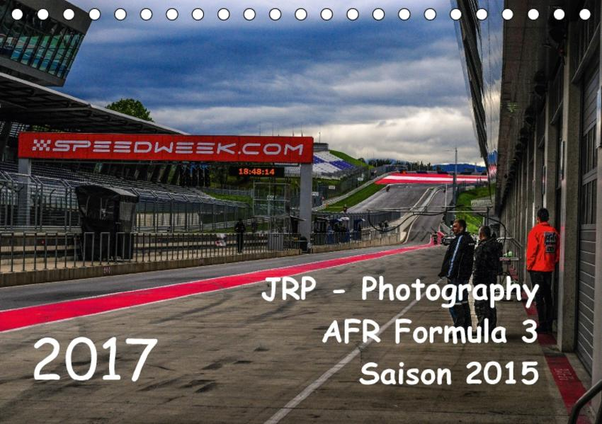 Formel 3 Kalender 2017AT-Version  (Tischkalender 2017 DIN A5 quer) - Coverbild
