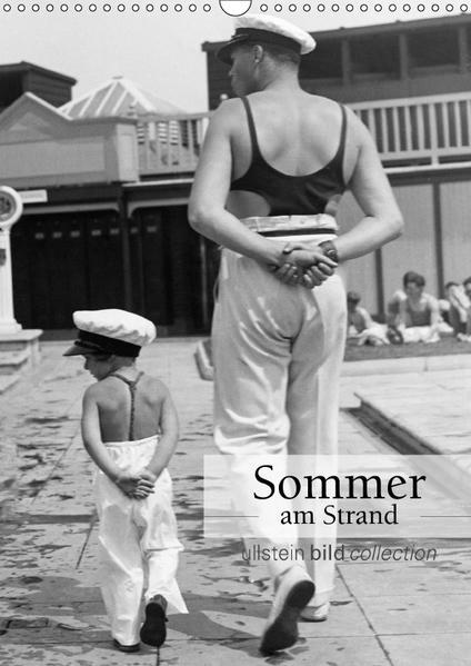 Sommer am Strand (Wandkalender 2017 DIN A3 hoch) - Coverbild