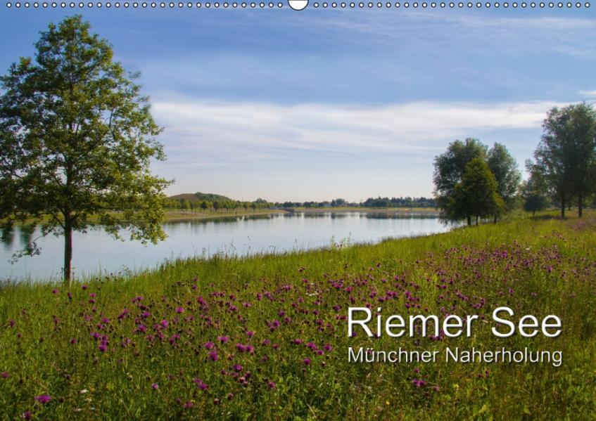 Riemer See (Wandkalender 2017 DIN A2 quer) - Coverbild
