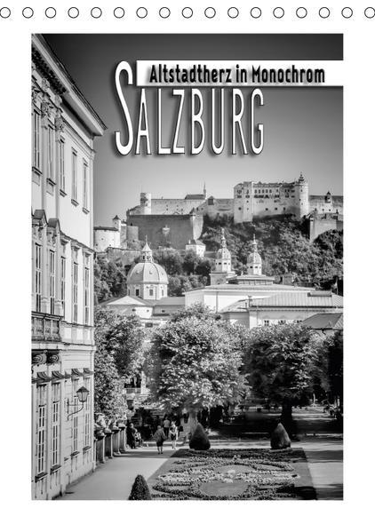 SALZBURG Altstadtherz in Monochrom (Tischkalender 2017 DIN A5 hoch) - Coverbild