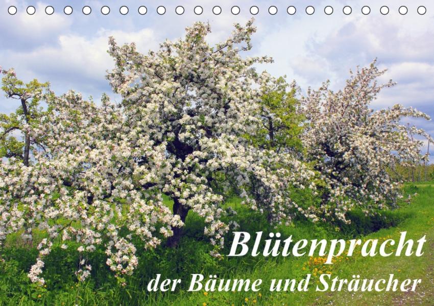 Blütezeit der Bäume und Sträucher (Tischkalender 2017 DIN A5 quer) - Coverbild