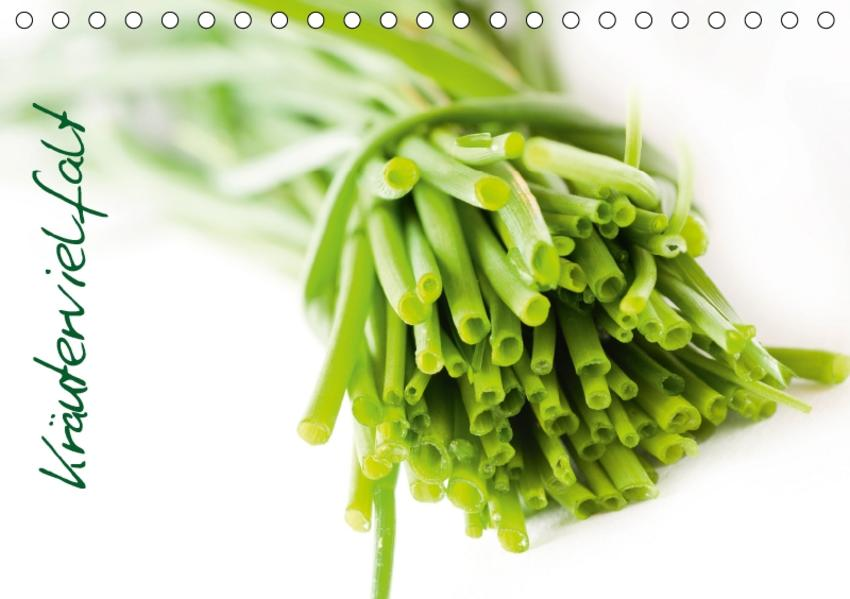 Kräutervielfalt (Tischkalender 2017 DIN A5 quer) - Coverbild