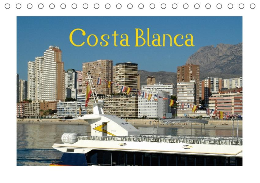Costa Blanca (Tischkalender 2017 DIN A5 quer) - Coverbild