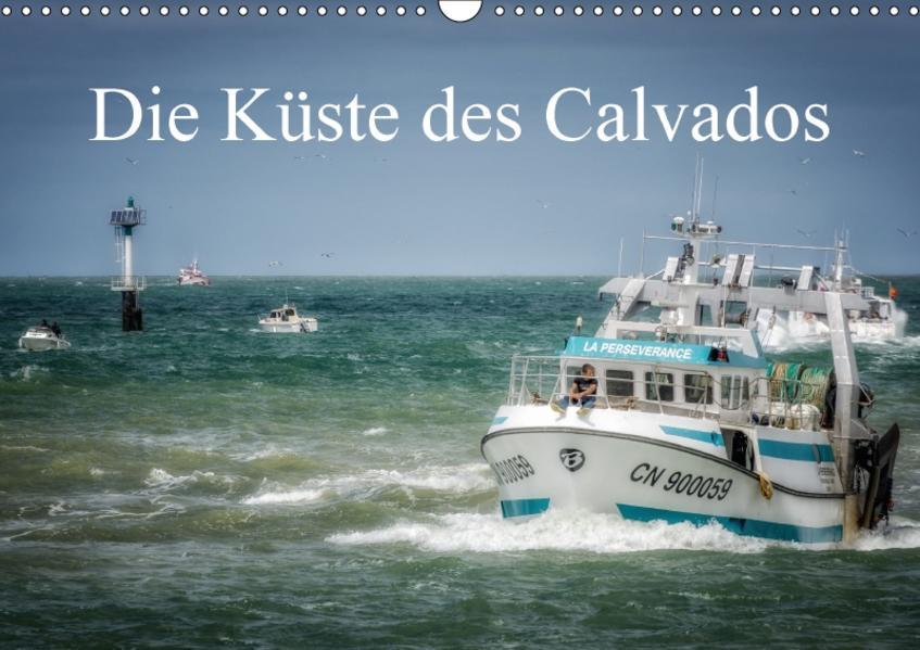 Die Küste des Calvados (Wandkalender 2017 DIN A3 quer) - Coverbild