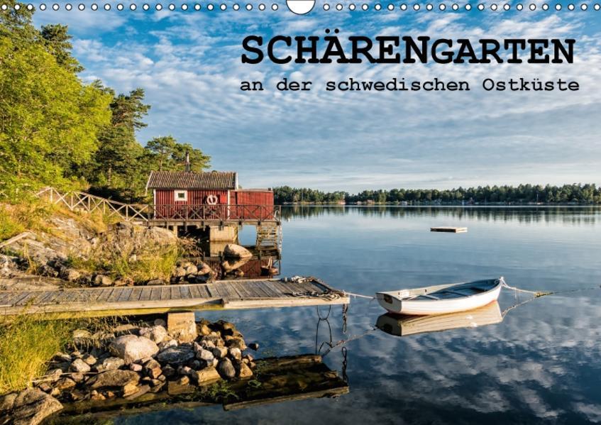 Schärengarten an der schwedischen Ostküste (Wandkalender 2017 DIN A3 quer) - Coverbild