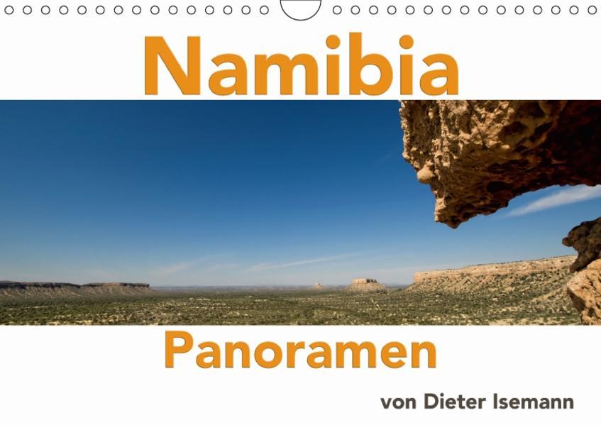 Namibia - Panoramen (Wandkalender 2017 DIN A4 quer) - Coverbild