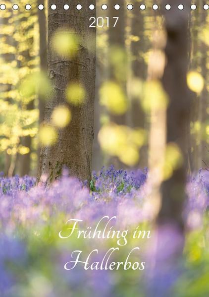Frühling im Hallerbos (Tischkalender 2017 DIN A5 hoch) - Coverbild