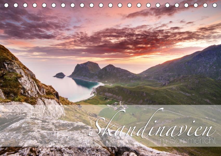 Skandinavien im SommerlichtCH-Version  (Tischkalender 2017 DIN A5 quer) - Coverbild