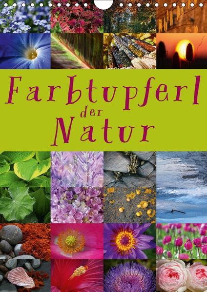 Farbtupferl der Natur (Wandkalender 2017 DIN A4 hoch) - Coverbild