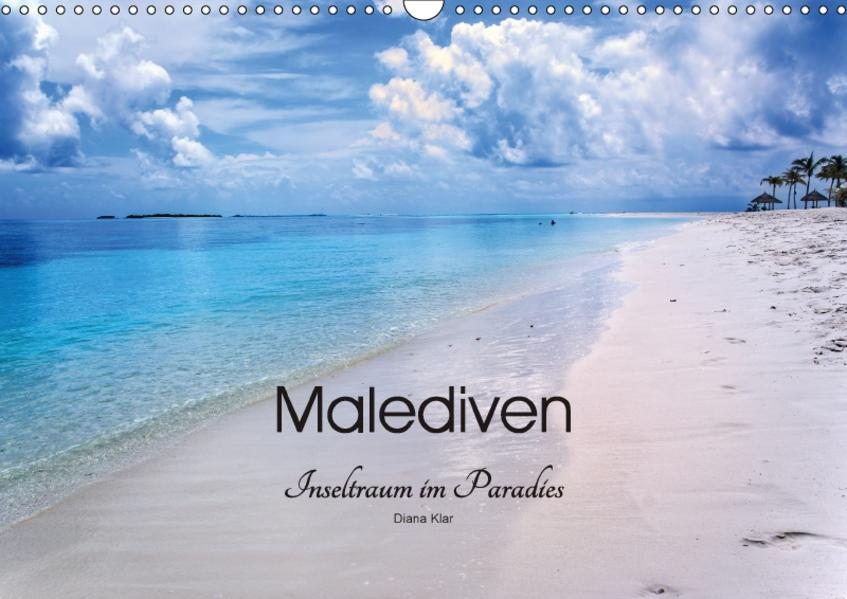 Malediven - Inseltraum im Paradies (Wandkalender 2017 DIN A3 quer) - Coverbild