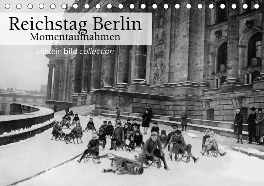 Reichstag Berlin - Momentaufnahmen (Tischkalender 2017 DIN A5 quer) - Coverbild